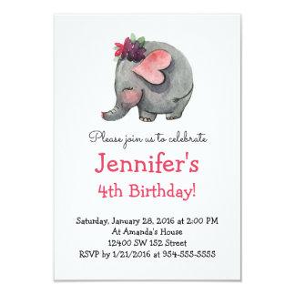Invitation de fête d'anniversaire de l'enfant