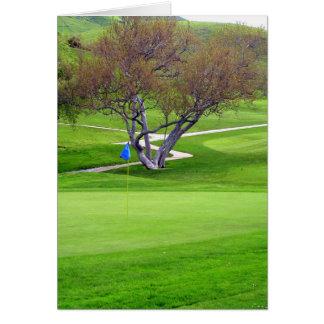 Invitation de golf