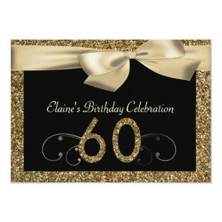 Invitation de l'anniversaire d'or de la femme