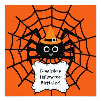 Invitation de partie de Halloween de toile