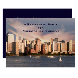Invitation de partie de retraite, horizon de NYC
