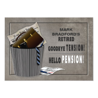 Invitation de partie de retraite - Tension-Pension
