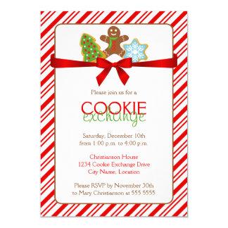 Invitation de partie d'échange de biscuit