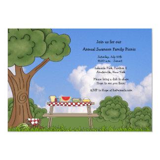 Cartons d 39 invitation table de pique nique faire part for Pique nique 78