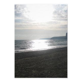 invitation de plage d'été