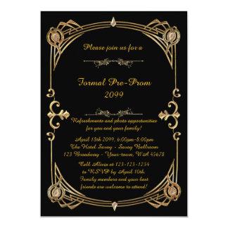 Invitation de Pré-Bal d'étudiants, pré bal