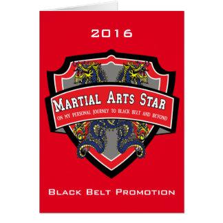 Invitation de promotion de ceinture noire