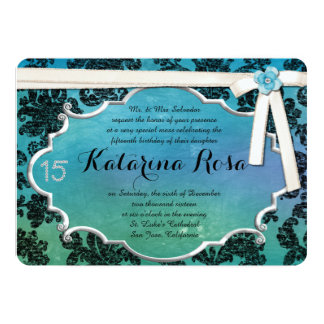 Invitation de Quinceanera