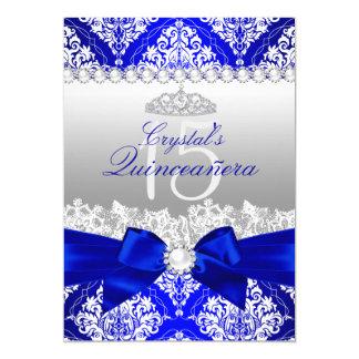Invitation de Quinceanera d'arc de perle de