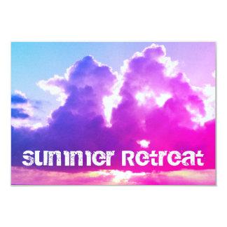 Invitation de retraite d'été