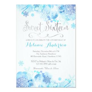 Invitation de sweet sixteen, pays des merveilles