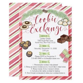 Invitation d'échange de biscuit