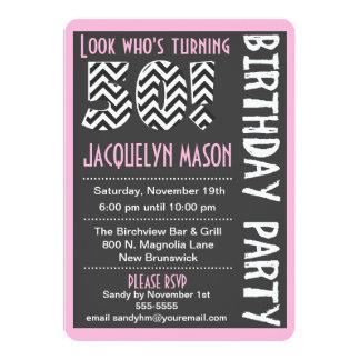 Invitation déjà faite sur commande d'anniversaire