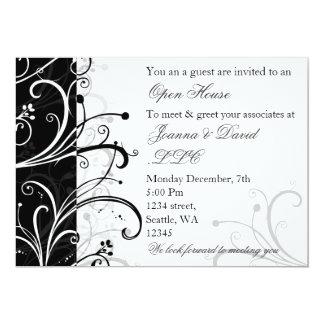 invitation d'entreprise élégante de partie
