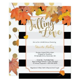 Invitation Douche nuptiale d'automne d'invitation de douche