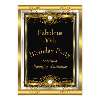 Invitation fabuleuse de fête d'anniversaire de