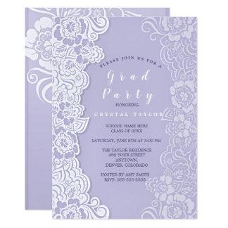 Invitation florale ultra-violette d'obtention du