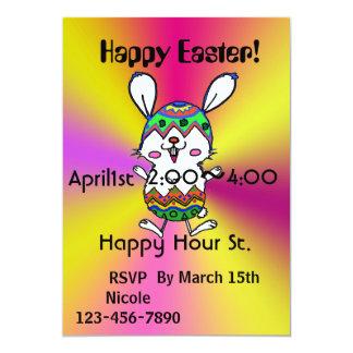 Invitation heureuse de Pâques