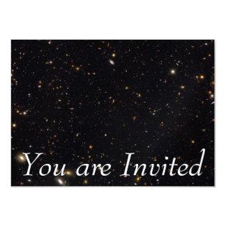 Invitation Histoire de galaxie indiquée par le Hubble