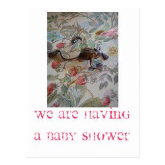 INVITATION MAGIQUE DE BABY SHOWER