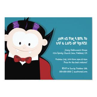 Invitation mignonne de partie d'enfants du vampire
