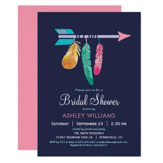 Invitation nuptiale de douche de Boho