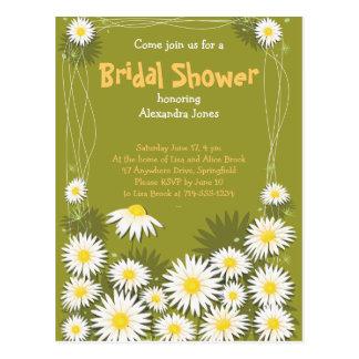Invitation nuptiale de partie de douche de jardin
