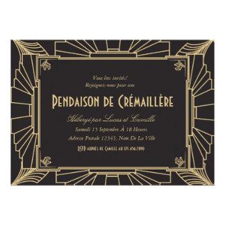 Invitation orientée de partie de pendaison de 1920