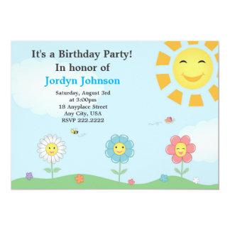 Invitation personnalisable de fête d'anniversaire