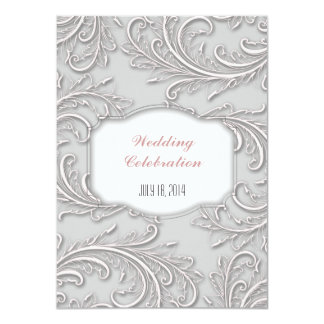 Invitation personnalisée de mariage/anniversaire