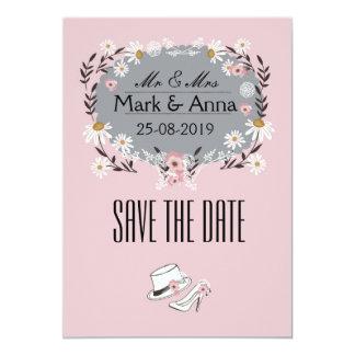 Invitation Save the Date Kaart