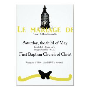 Invitations Faire Part Cartes Mariage Français Zazzlebe