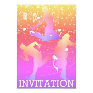 Invitation urbaine du club VIP de hip hop moderne