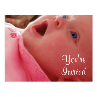 Invitations de baby shower