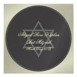 Invitations de bat mitzvah,