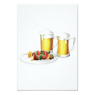 Invitations de bière et de barbecue