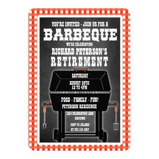 Invitations de célébration de barbecue