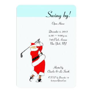 Invitations de Chambre ouverte de vacances de Noël