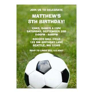Invitations de fête d'anniversaire de ballon de