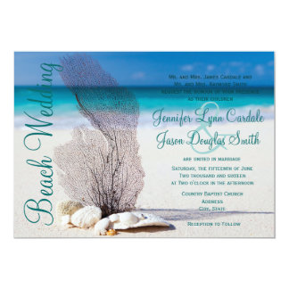 Invitations de mariage de destination de