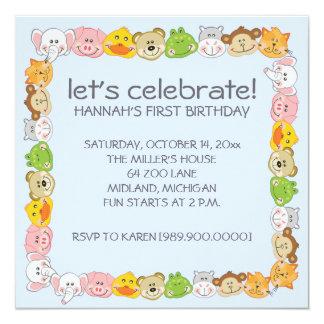 Invitations de partie d'anniversaire de enfant