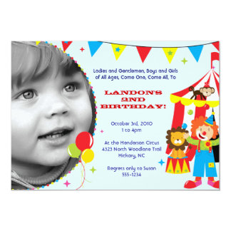 Invitations anniversaire personnalisables sur Zazzle