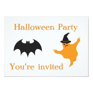 Invitations de partie de Halloween