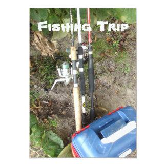 Invitations de pêche ou de vacances en camping