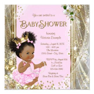 Invitations de princesse baby shower