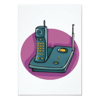 Invitations de téléphone et de répondeur
