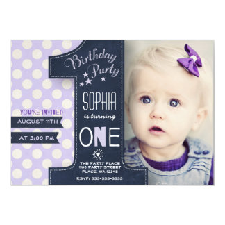 Invitations d'une d'an photo du tableau |
