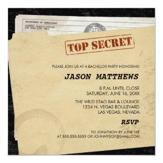 Invitations extrêmement secrètes drôles