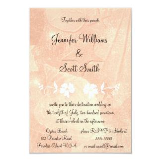 Invitations florales tropicales de mariage de