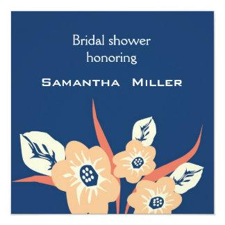 Invitations nuptiales modernes de douche : : Bleu